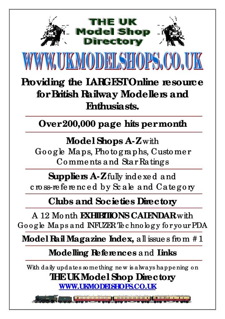 Advert UK Model Shop